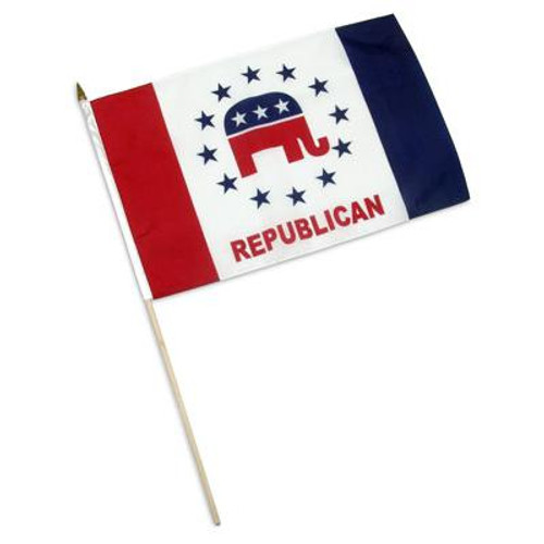 Republican Party Flag Design 2 - 12 x 18 inch