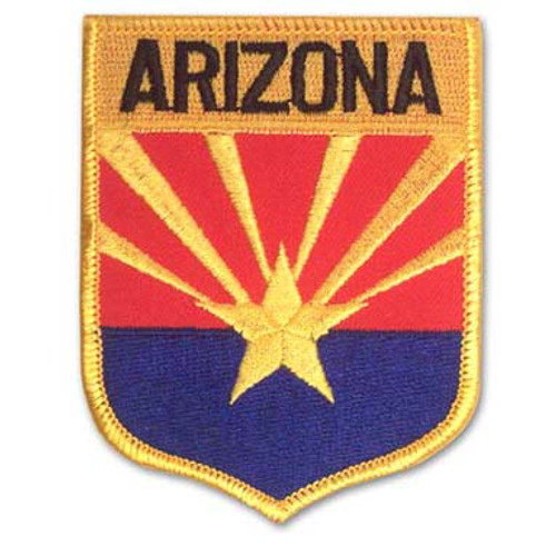Arizona Embroidered Patch