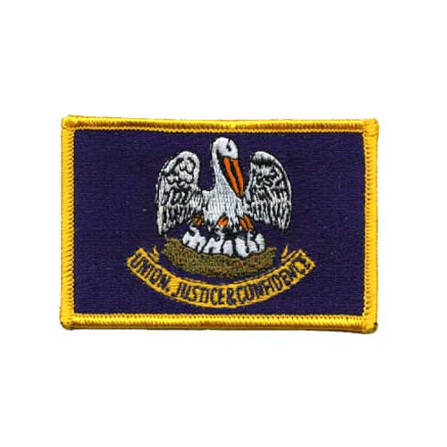 Louisiana Embroidered Patch