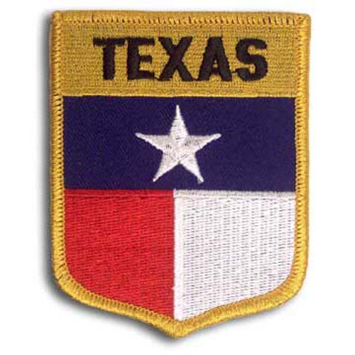 Texas Embroidered Patch