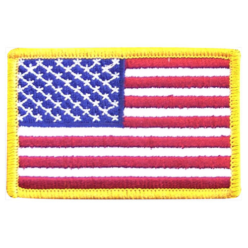 American Flag Patch Standard - 3.5in x 2.25in