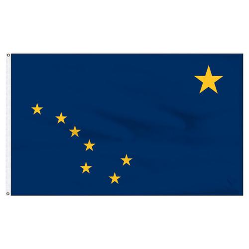 Alaska Flag 5 x 8 Feet Nylon