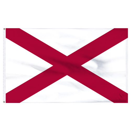Alabama Flag 5 x 8 Feet Nylon