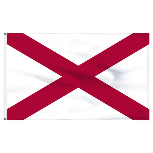 Alabama flag 6 x 10 feet nylon