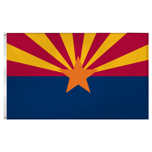 Arizona Flag 3ft x 5ft Super Knit polyester