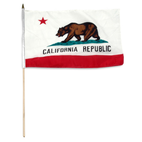 California flag 12 x 18 inch