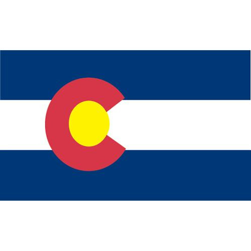 Colorado 3ft x 5ft SpectraPro Flag