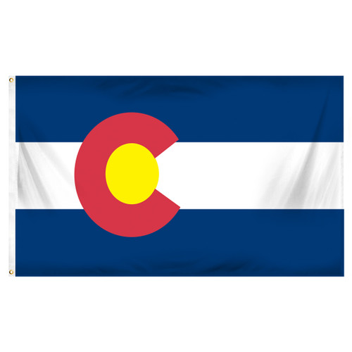 Colorado 4ft x 6ft Sewn Polyester Flag