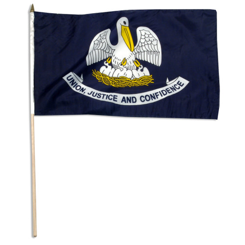 Louisiana flag 12 x 18 inch