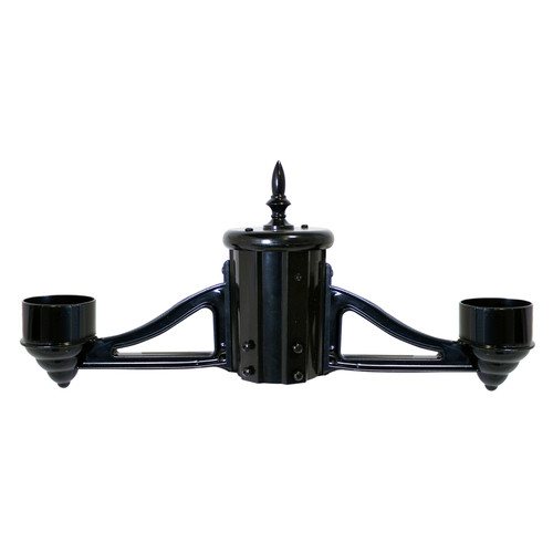 """Dual Head Bracket Kit with 3"""" Fitter - Gama Sonic"""
