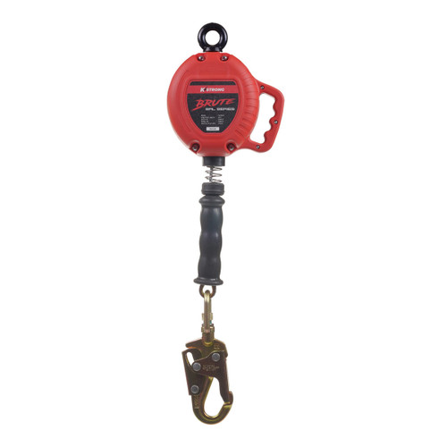 K-Strong BRUTE 10ft. Cable SRL w/Snap hook, Carabiner, and Tagline