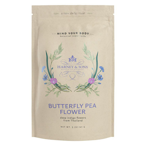 Harney and Sons Wellness Tea - Butterfly Pea Flower - Loose leaf - 5oz