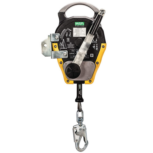 MSA Workman Rescuer 50ft. SRL-R w/Stainless Steel Cable