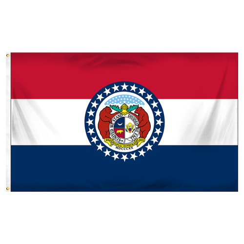 Missouri 3ft x 5ft Printed Polyester Flag