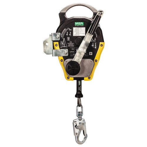 MSA Workman Winch - 50ft. Rescue SRL w/Stainless Steel Cable