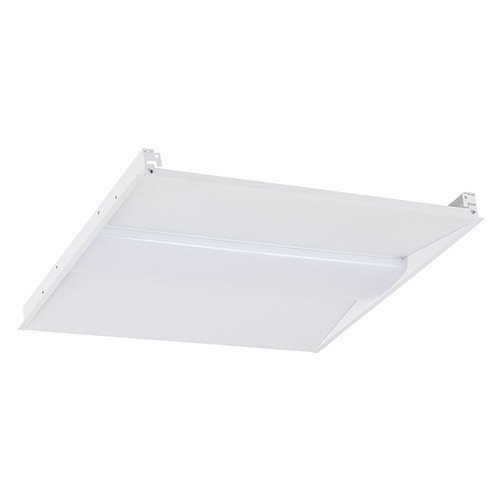 Case of 2 - 2ftx2ft - Wattage Adjustable & Color Tunable LED Troffer - 25-35W - Euri Lighting
