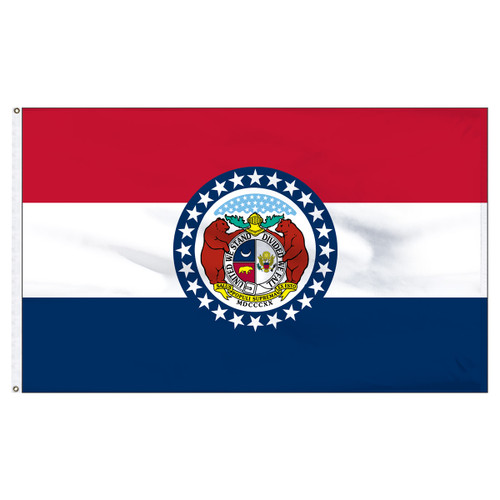 Missouri Flag 5 x 8 Feet Nylon
