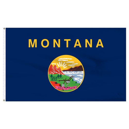 Montana flag 6 x 10 feet nylon