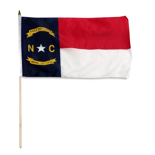 North Carolina flag 12 x 18 inch