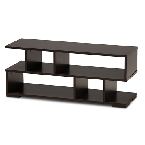 Baxton Studio Arne Modern and Contemporary  Brown Finished Wood TV Stand