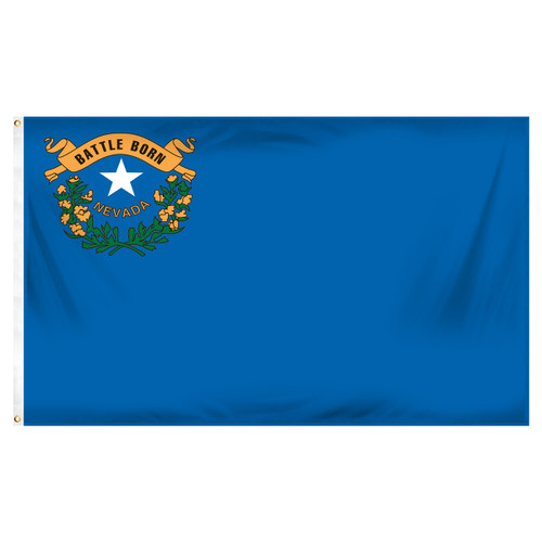 Nevada 3ft x 5ft Printed Polyester Flag