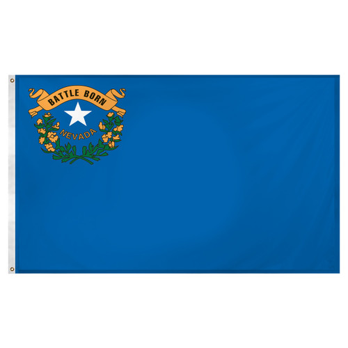 Nevada flag 3 x 5 feet Super Knit polyester