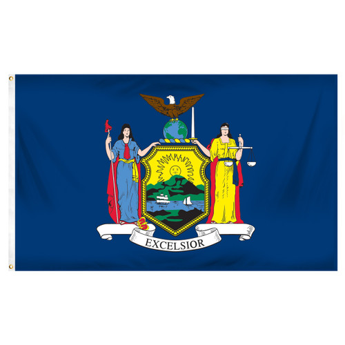 New York 3ft x 5ft Printed Polyester Flag