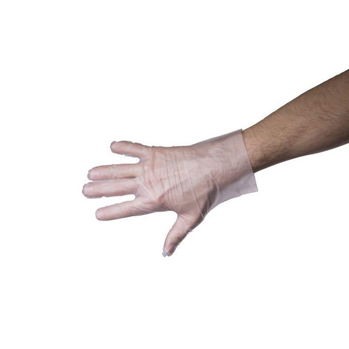 Clear High-Quality Food Service Gloves – Box of 200 - (M, L XL)