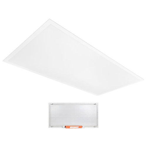 2ft x 4ft - Wattage Adjustable & Color Tunable LED BackLit Flat Panel - 29W/34W/39W/49W - Emergency Driver - Beyond LED Technology