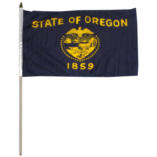 Oregon flag 12 x 18 inch