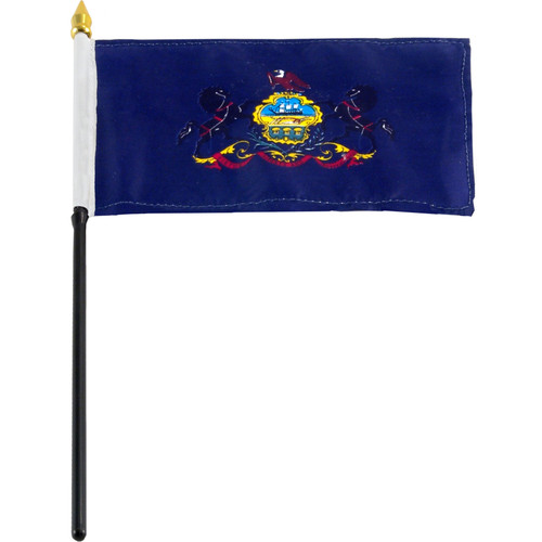 Pennsylvania flag 4 x 6 inch