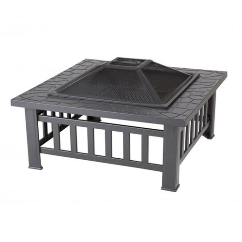 """23"""" Stonemont Square Wood Burning Fire Pit"""