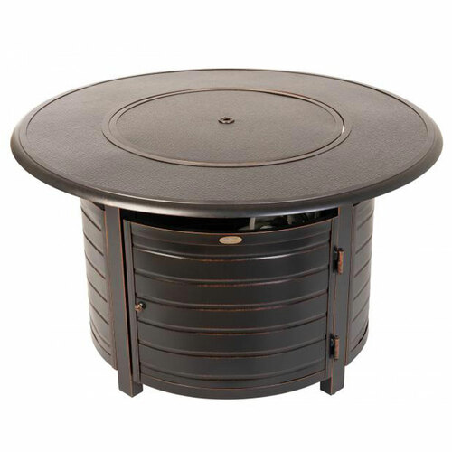Finn Round Aluminum Fire Pit - LP-50,000 BTU