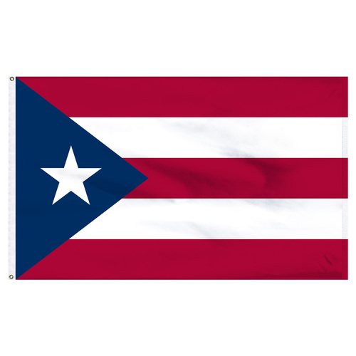 Puerto Rico flag 6ft x 10ft nylon