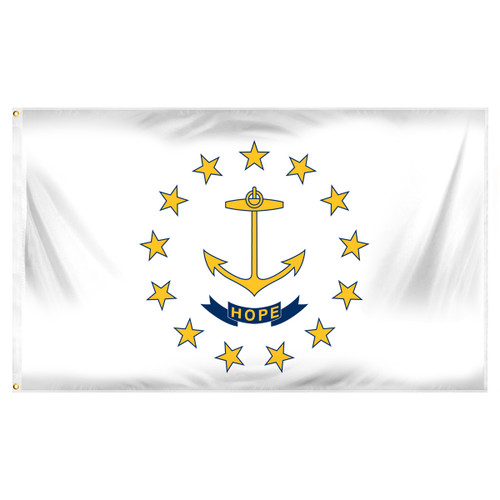 Rhode Island 3ft x 5ft Printed Polyester Flag