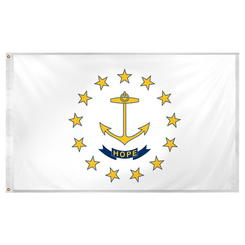 Rhode Island flag 3 x 5 feet Super Knit polyester