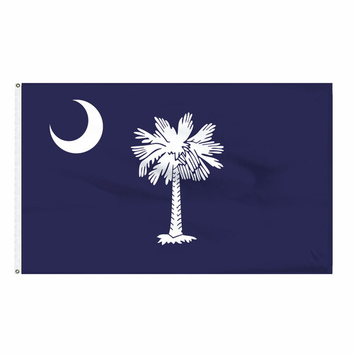 South Carolina Flag 3x5ft Nylon