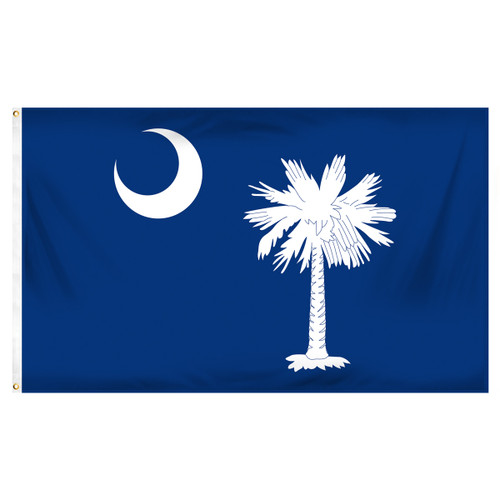 South Carolina 3ft x 5ft Printed Polyester Flag