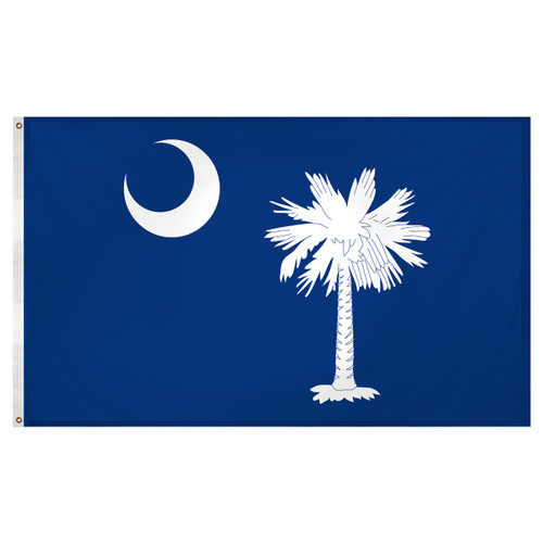 South Carolina 3ft x 5ft Super Knit Polyester Flag