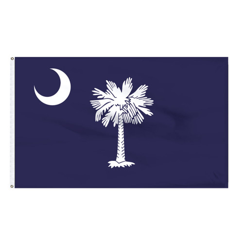 South Carolina Flag 5 x 8 Feet Nylon