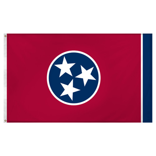 Tennessee flag 3 x 5 feet Super Knit polyester