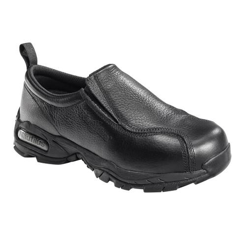 Nautilus Women's Steel Toe Black Slip On Shoe