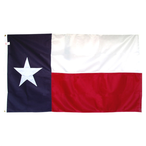 5ft x 8ft Super Tough Sewn Polyester Texas Flag