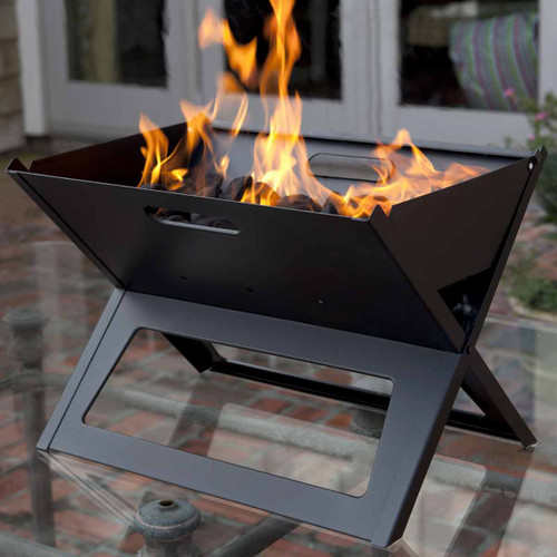 Notebook Portable Charcoal Grill
