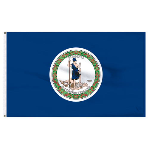 Virginia flag 2 x 3 feet nylon