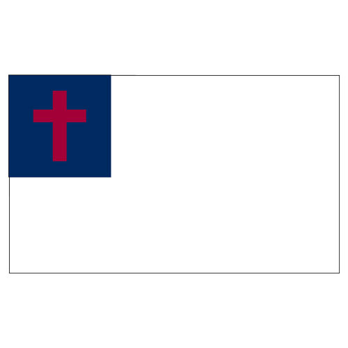 Christian 3ft x 5ft Printed Polyester Flag