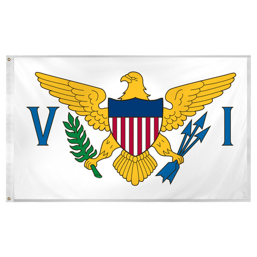 U.S. Virgin Islands Flag 3ft x 5ft Super Knit Polyester