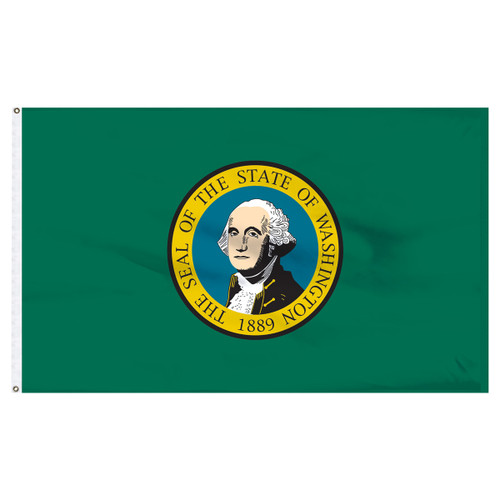 Washington State Flag 5 x 8 Feet Nylon