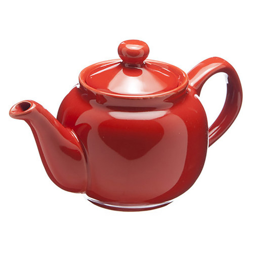 Amsterdam 2 Cup Teapot - Red