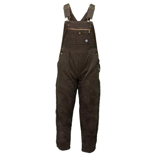 Key Apparel Insulated to Waist Bib Overall For Her
